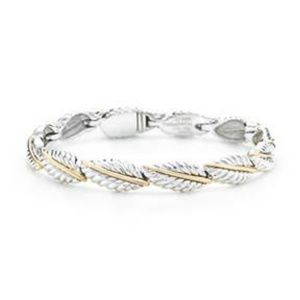 Tiffany & Co Continued Leaves Bracelet